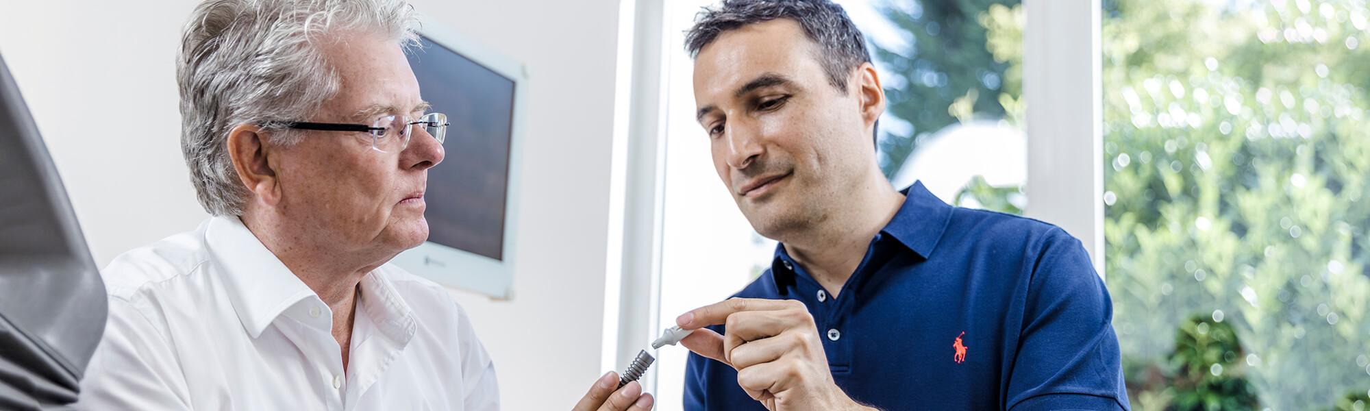 Implantologie Viersen - Guen - Slider